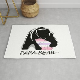 Papa Bear Pomosexual Rug