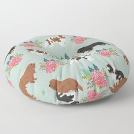 Cavalier King Charles Spaniel must have gift accessories for dog breed owner king charles dog Floor Pillow