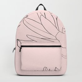 water lily Backpack