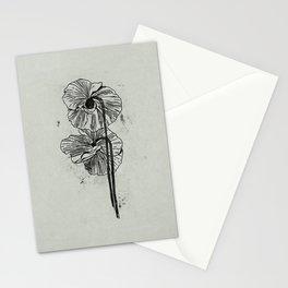 Hand Drawn Poppy Stationery Cards