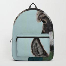 donkey portrait  Backpack