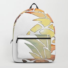 Hawaiian tropical pineapple  Backpack