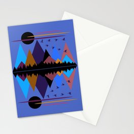 Geese On The Wing Stationery Cards