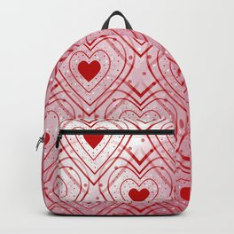 Heartbeat - Romantic - Happy Valentines Day Backpack
