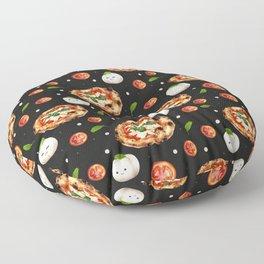 Neapolitan Pizza with  Floor Pillow