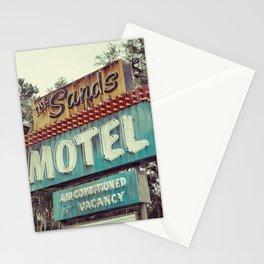 Sands Motel Stationery Cards