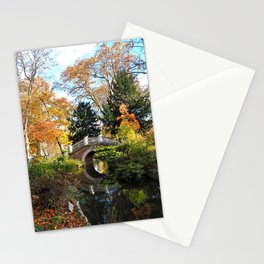 Autumn Colours in the Parc Monceau Stationery Cards