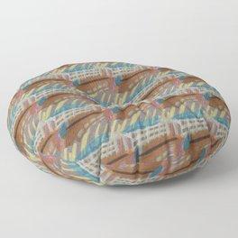 picket fence Floor Pillow