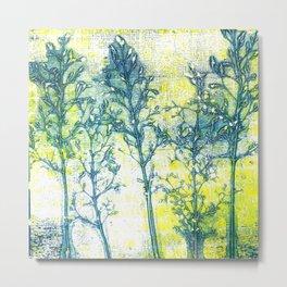 Flower Impressions Metal Print