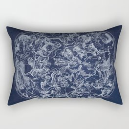 Vintage Constellations & Astrological Signs | White Rectangular Pillow