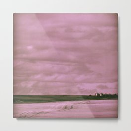 Subtle Seas Metal Print