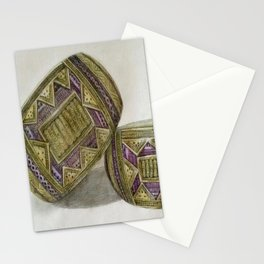 traditional armband Stationery Cards