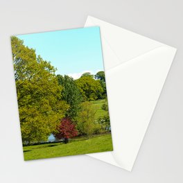 Trees in the Park Stationery Cards