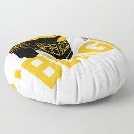Pittsburgh 'Burgh Incline 412 Print Floor Pillow