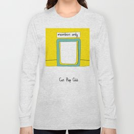 Cat Flap Club Long Sleeve T-shirt