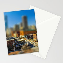 Downtown OKC by Monique Ortman Stationery Cards