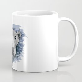 I can swim - Polar Bear Coffee Mug