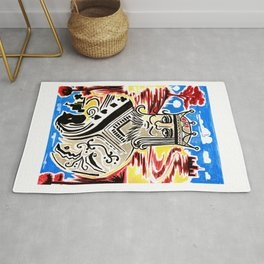 King Of Cards Rug
