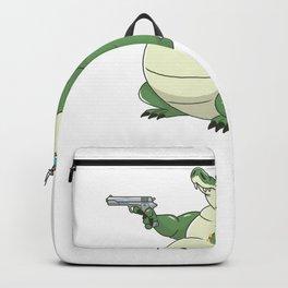 Glockodile Crocodile Lover Alligator  Backpack