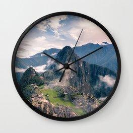 Mountain Peru Wall Clock