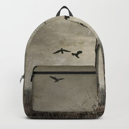 A Tree And Crows Backpack