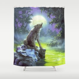 The Werewolf of Fever Swamp Shower Curtain