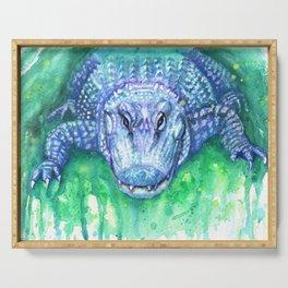 Blue Gator Serving Tray