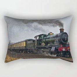 Rood Ashton Hall steam locomotive Rectangular Pillow