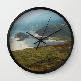 Big Sur Coast Highway Wall Clock