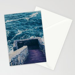 The 40 Steps - Cliff Walk - Newport, Rhode Island Stationery Cards