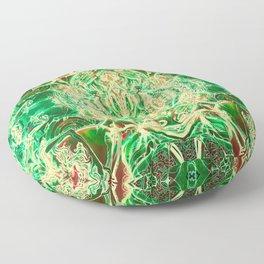 The Heart's Brain Floor Pillow