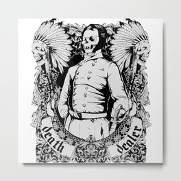 Death Dealer Metal Print