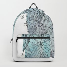 Fernanda Garner Feather Backpack