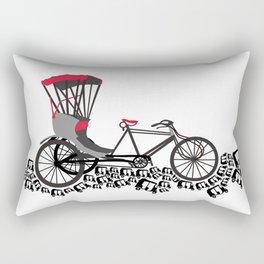 Rickshaws Rectangular Pillow