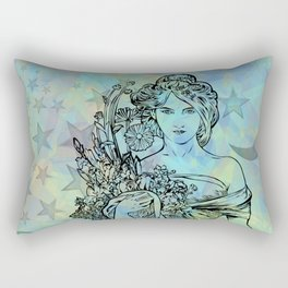 Moon Goddess Rectangular Pillow
