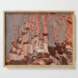 Agathe Log Texture Serving Tray