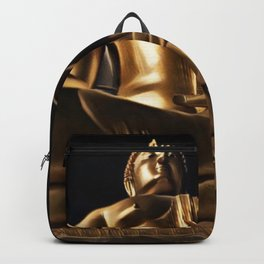 Thailand Great Buddha Artistic Illustration Energy Style Backpack