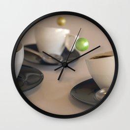 Creative coffee Wall Clock