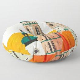travel europe germany munich Floor Pillow