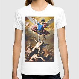 Luca Giordano - The Fall Of The Rebel Angels - Digital Remastered Edition T-shirt