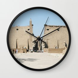 Temple of Luxor, no. 11 Wall Clock