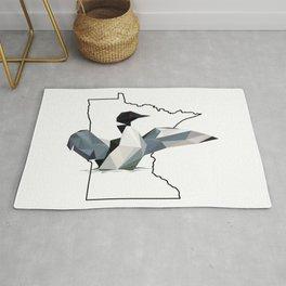 Minnesota – Common Loon Rug