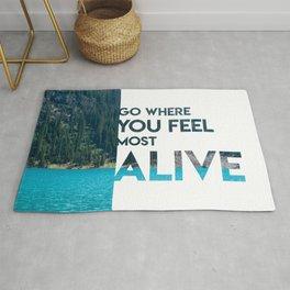 Go Feel Alive Rug
