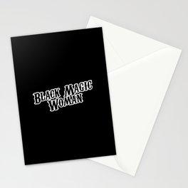 Black Magic Woman Stationery Cards