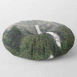Multnomah Falls, Oregon Floor Pillow