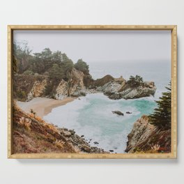 big sur iii / california Serving Tray