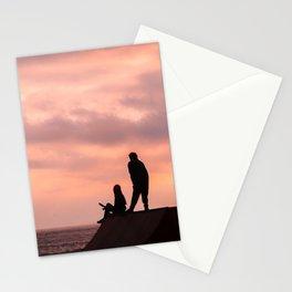 Dibujando el horizonte Stationery Cards