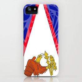 American Samoa Flag iPhone Case