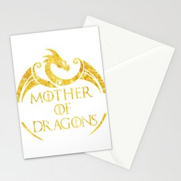Mother of Dragons T-shirt - Mother's Day Dragon Lovers Shirt Stationery Cards