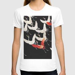Flying Japanese Cranes T-shirt